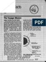 NASA Facts the Voyager Mission