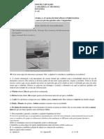 Exercício de Revisao Avaliação Português