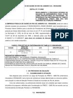 Edital 171. 2020 Preceptor Enfermagem