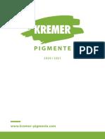 Kremer Katalog de 2020 Web S