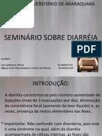 SEMINÁRIO DIARREIA