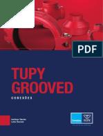 Tupy Grooved Conexões. Catálogo Técnico Linha Grooved