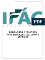 Legislacao e Politicas Para Educacao Especial