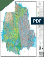 Serra Geral - Mapeamento Geológico 1_250000 - Mapa 2018