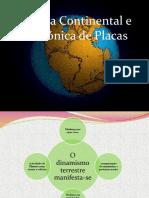 4 - Deriva Continental e Tectónica de Placas