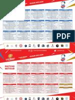 Le calendrier du BBH pour la saison 2021-2022