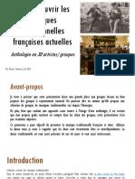 Pour Découvrir Les Musiques Traditionnelles Françaises Actuelles