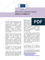 European Semester Thematic Factsheet Public Procurement It