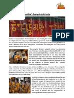 Buddha's Footprints in India
