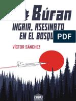 Ingair, asesinato en el bosque - Búran 2 de Víctor Sánchez para Nou editorial previo