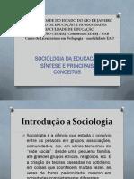 Sociologia Da Educação PPT