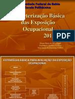 UFBA -CEXTHO Caracterização Básica mar 2013 Aluno