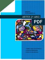 COLEÇÃO ANDRÉIA KRAUSS - ENSINO FUNDAMENTAL - ARTES 2º ANO