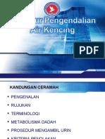 Prosedur Pengendalian Air Kencing