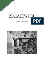Isaiah's Job