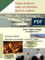 XXII Congreso Nacional de Profesores de Química