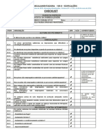 Check List NR 8 - CERAMICA FORNOS