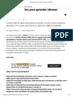 10 sites gratuitos para aprender idiomas - PORVIR