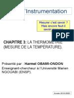 Capteurs de température 2i
