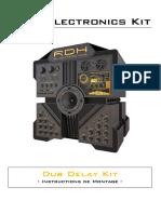 Dub Delay RDH instruction montage