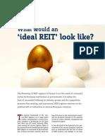 The_idea_REIT, tiêu chí đánh giá