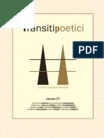 Transiti Poetici Vol XXVII