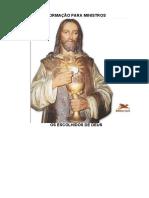 Formação Para Ministros Maria Mãe Da Igreja