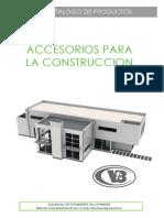 Catalogo Division Construcciones Metalicas  Industrias V8