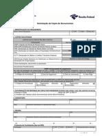 Solicitação de Cópia de Documentos