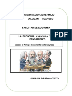 Economia Aventura Del Pensameinto Ok