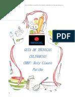 GUÍA DE TÉCNICAS CULINARIAS