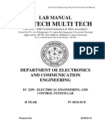 first sem electrical engineering lab manuals