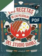 Dossier Recetas Studio Ghibli