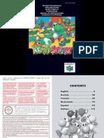 Manual Nintendo 64 Yoshis Story