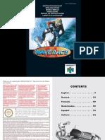 Manual Nintendo64 Wave Race 64