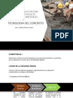 TECNOLOGÍA DEL CONCRETO PARTE I
