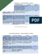 PLANO DE ENSINO DE MATEMÁTICA 1ª SÉRIE DO ENSINO MÉDIO 1º BIMESTRE DIRETORIA DE ENSINO REGIÃO CAIEIRAS
