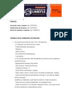 NORMAS- RESUMO E ARTIGO-