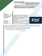 ABNT ISO-TR 10013 Texto Integral