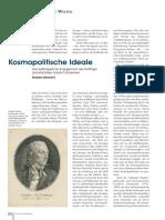 Albrecht, Kosmopolitische Ideale