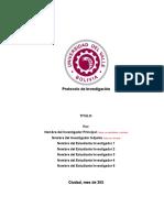 Protocolo de investigación 2021 en aula