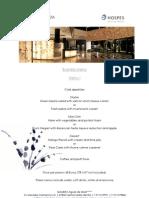 Business Menu in Ibiza - Dinner Gala