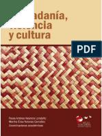 Ciudadanía, Violencia y Cultura.2021