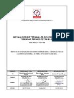 INEL-SSOMA-PETS-004 INSTALACION DE TERMINALES DE COMPRESION Y MANGAS TERMOCONTRAIBLES