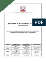 INEL-SSOMA-PETS-005 INSTALACION DE INTERRUPTORES EN GABINETE