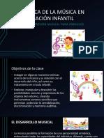 clase 3 DIDÁCTICA DE LA MÚSICA EN LA EDUCACIÓN INFANTIL