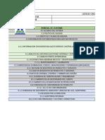 listado requisitos de documentos por la iso 9001-2015