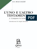 Paul Beauchamp - L'Uno e l'Altro Testamento. Compiere Le Scritture. Vol. 2-Glossa (2001)