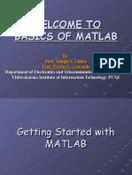 BASICS OF MATLAB 1 120209 MIT AURANGABAD
