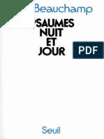 Psaumes Nuit Et Jour by Paul Beauchamp [Beauchamp, Paul] (Z-lib.org)